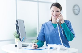 Doctor on Telemedicine Appointment New York NY